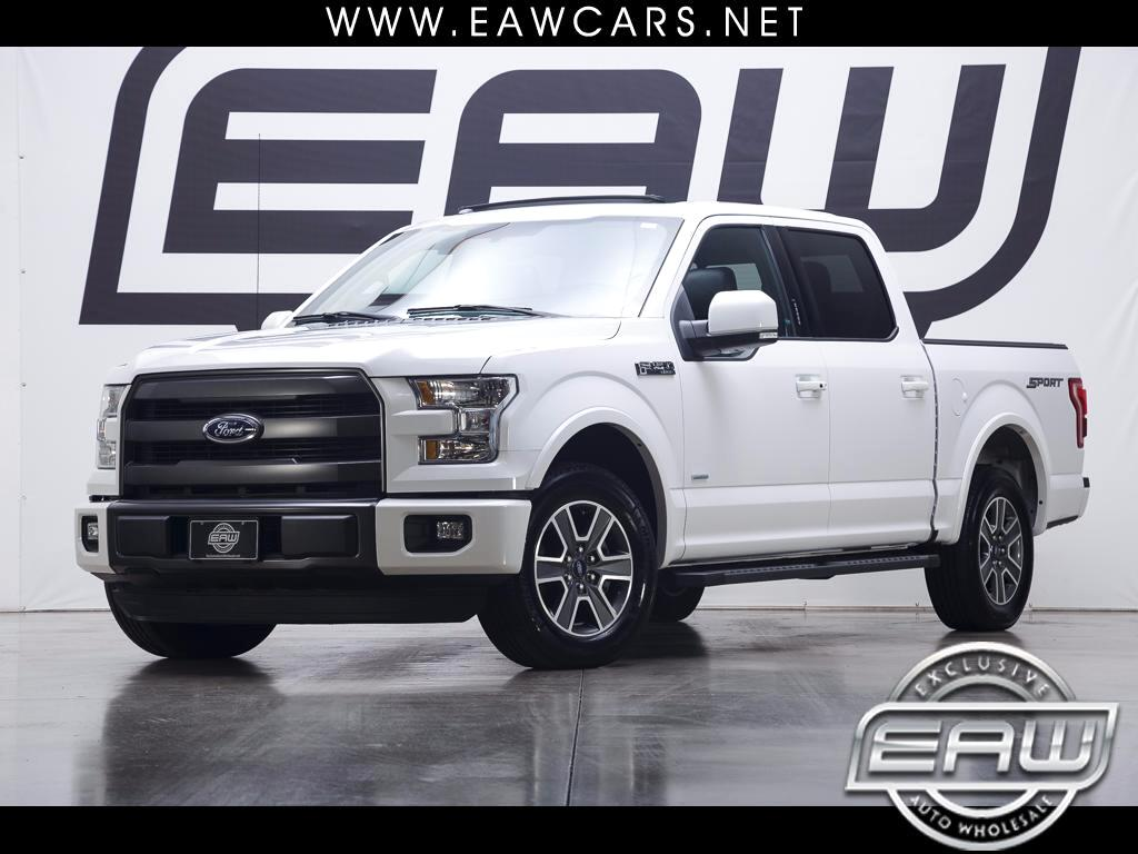 2015 Ford F-150 Lariat SuperCrew Sport