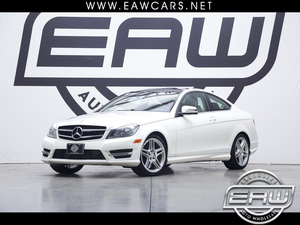 2014 Mercedes-Benz C-Class C250 COUPE W/SPORT PACKAGE