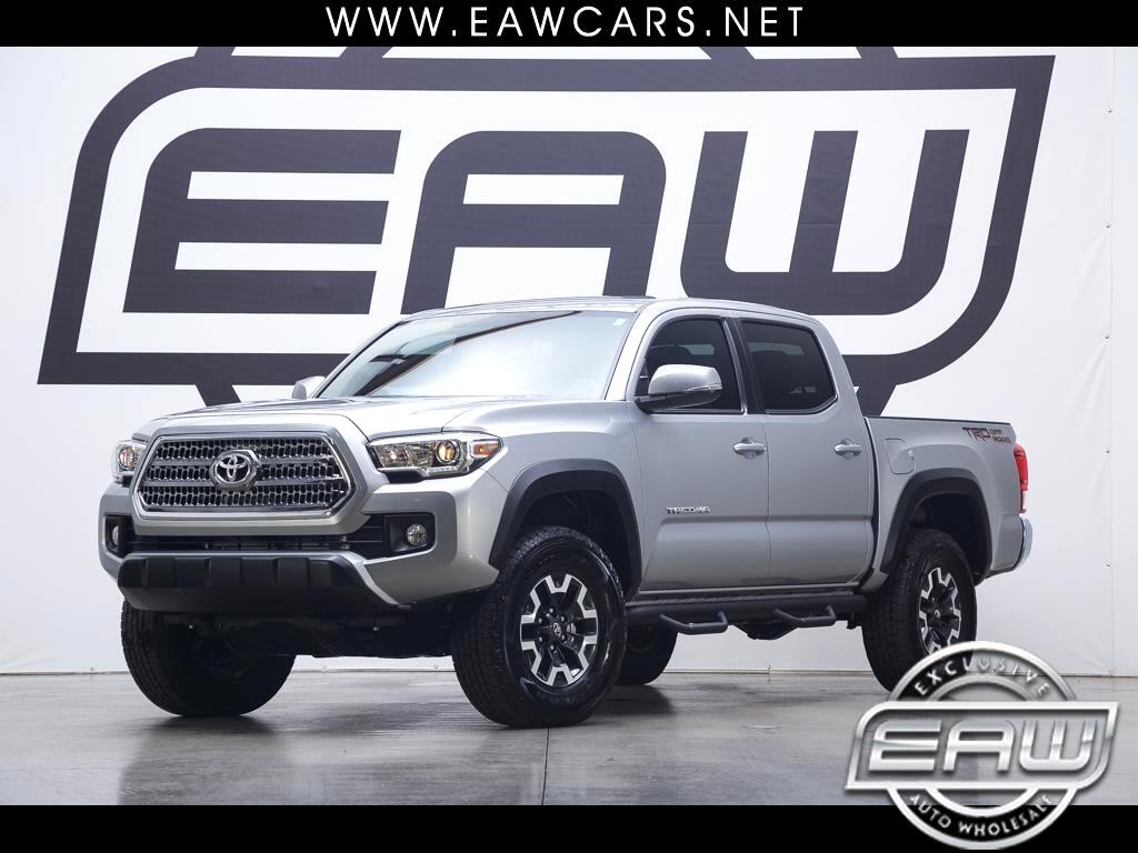 2017 Toyota Tacoma SR5 DOUBLE CAB V6 AT TRD OFFROAD