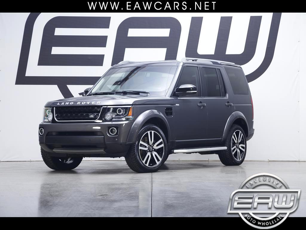 2016 Land Rover LR4 HSE LUX LANDMARK EDITION
