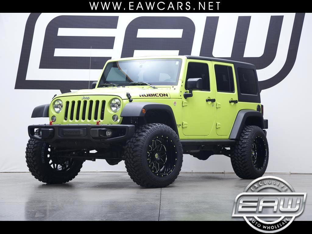 2016 Jeep Wrangler UNLIMITED RUBICON HARDROCK 4WD
