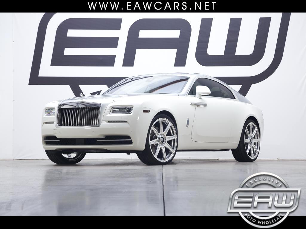 2015 Rolls-Royce Wraith COUPE 2-TONE STARLIGHT PKGE