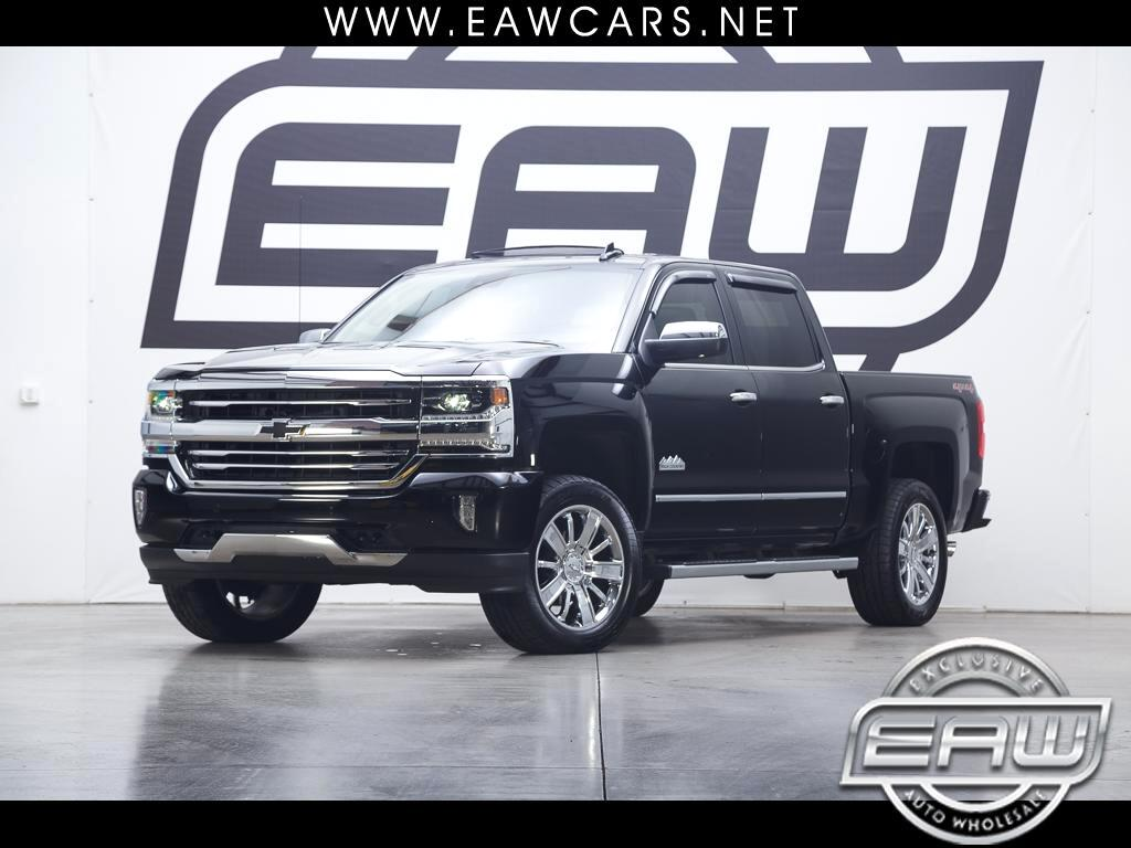 2017 Chevrolet Silverado 1500 1500 HIGH COUNTRY CREW CAB 4WD