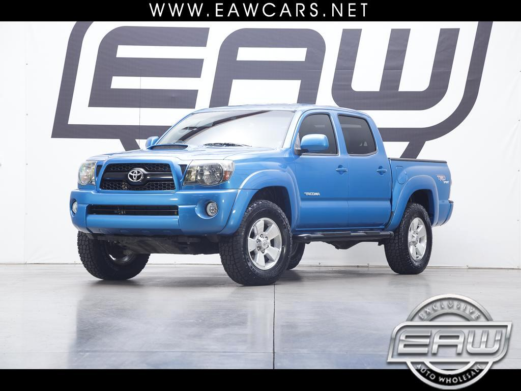2011 Toyota Tacoma TRD SPORT DOUBLE CAB 4WD