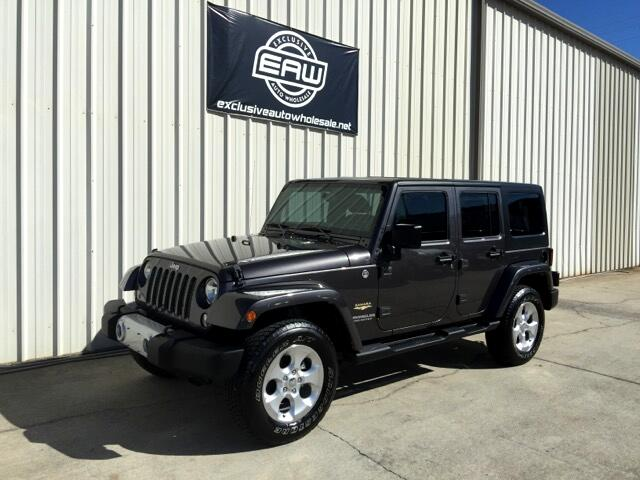 2014 jeep wrangler unlimited sahara used cars in pelham al 35124. Black Bedroom Furniture Sets. Home Design Ideas
