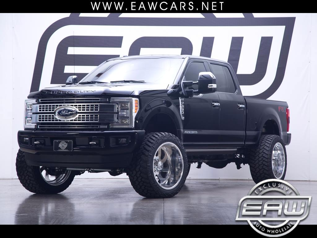 2017 Ford F-250 SD PLATINUM SUPERCREW 4X4