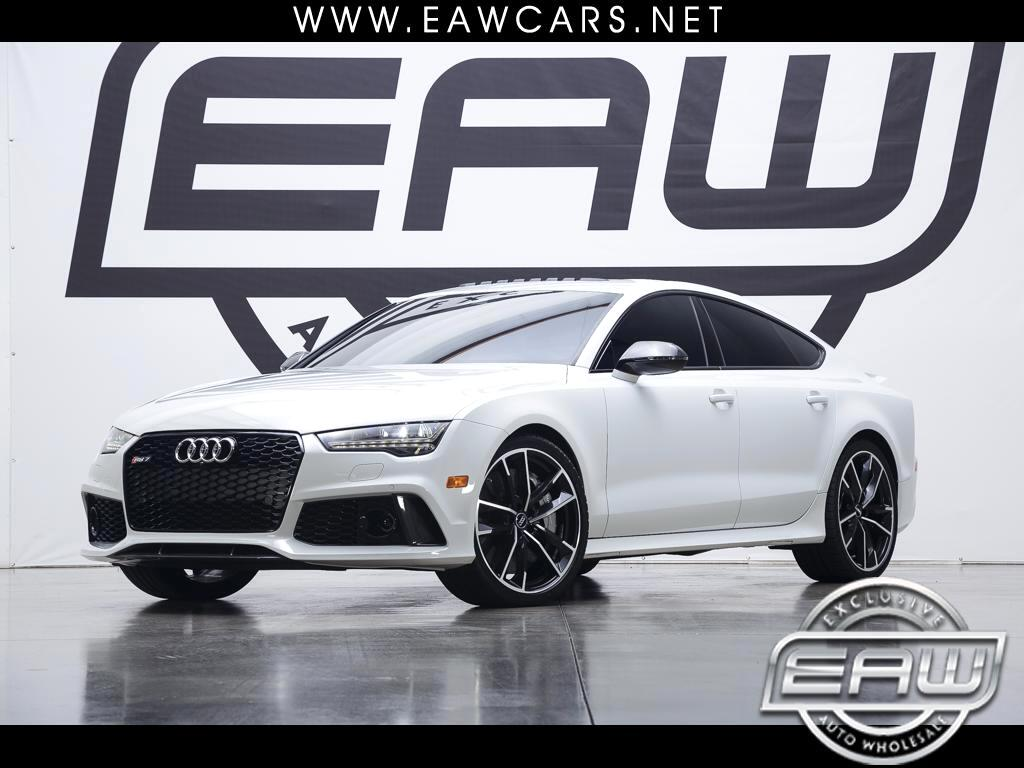 2017 Audi RS7 4.0T PERFORMANCE QUATTRO