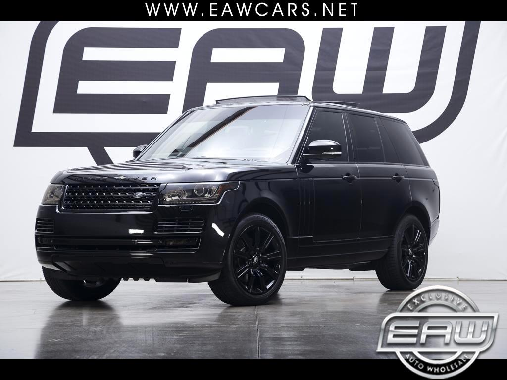 2015 Land Rover Range Rover 4WD 4dr Supercharged Ebony Edition