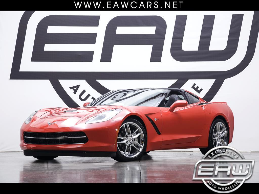 2015 Chevrolet Corvette 3LT Coupe Manual