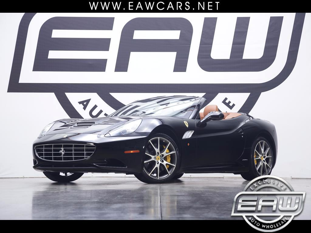 2013 Ferrari California Convertible GT