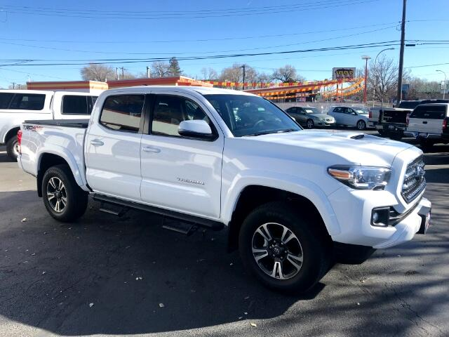 2017 Toyota Tacoma SR5 TRD Double Cab V-6 6AT 4WD