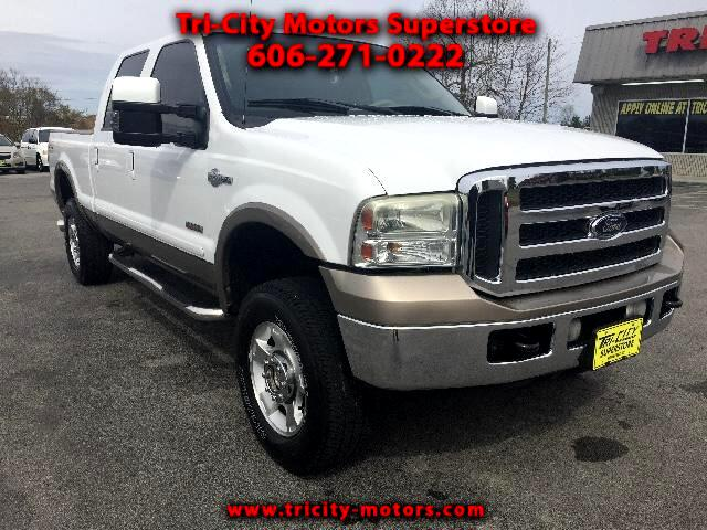 2006 Ford F-250 SD KING RANCH CREW CAB 4X4