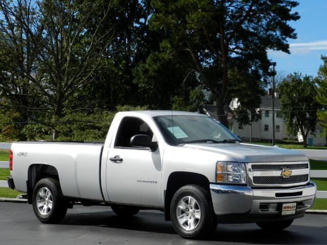 2012 Chevrolet Silverado 1500 LS Long Bed 4WD