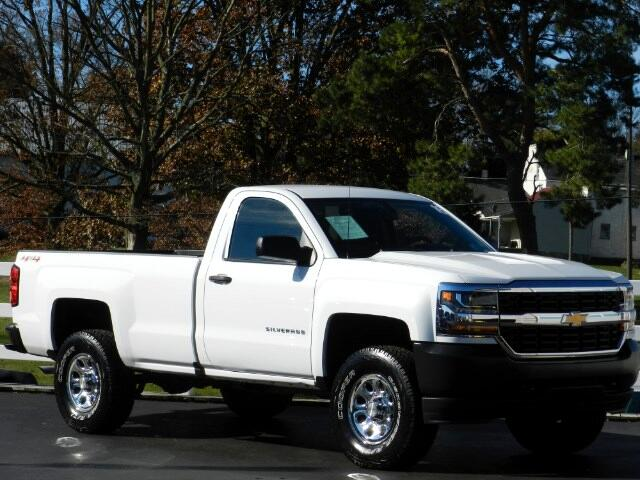 2016 Chevrolet Silverado 1500 Work Truck Short Box 4WD
