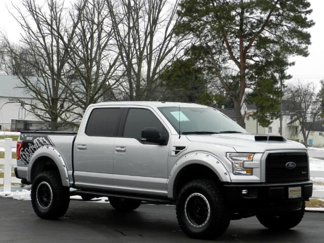 2015 Ford F-150 XLT SuperCrew Short Bed 4WD