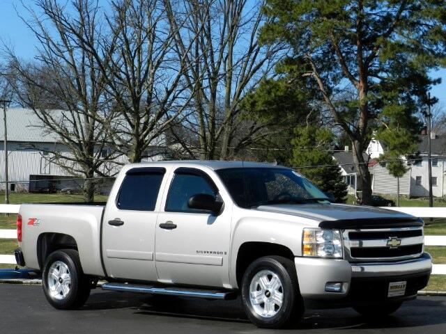 2008 Chevrolet Silverado 1500 Z71 Crew Cab 4WD