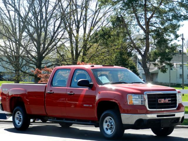 2010 GMC Sierra 2500HD Work Truck Crew Cab Long Box 4WD