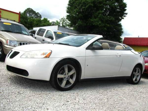 pontiac g6 gt convertible for sale in jacksonville fl cargurus. Black Bedroom Furniture Sets. Home Design Ideas