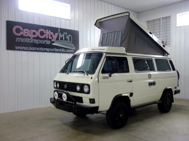 1987 Volkswagen Vanagon Westfalia Camper Syncro
