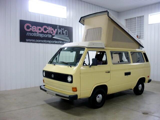 1981 Volkswagen Vanagon Westfalia Camper