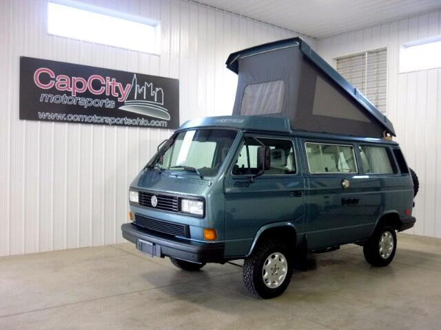1989 Volkswagen Vanagon Camper GL Syncro