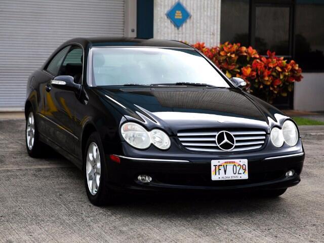 2003 Mercedes-Benz CLK-Class CLK320 Coupe