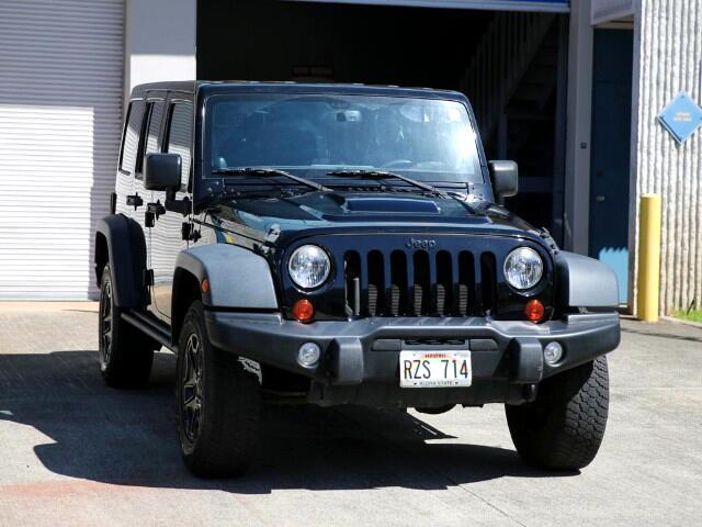 2013 Jeep Wrangler Unlimited Sahara Moab 4WD