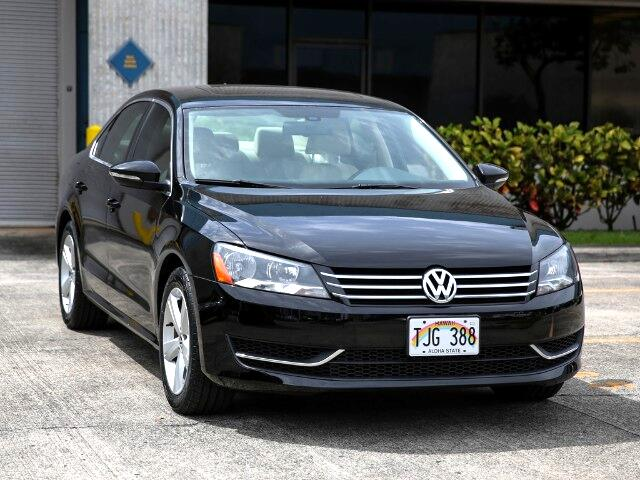 2012 Volkswagen Passat SE Sedan
