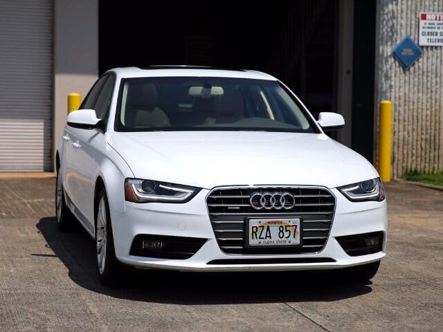 2013 Audi A4 Premium Plus Quattro Sedan