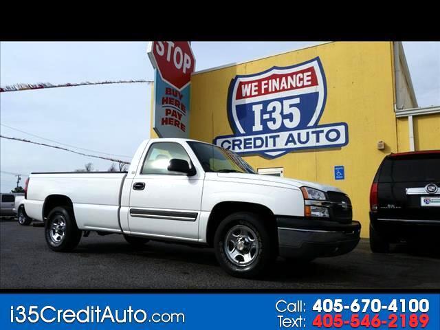 2004 Chevrolet Silverado 1500 Reg Cab  405-591-2214 Call NOW 24/7 or TEXT Below