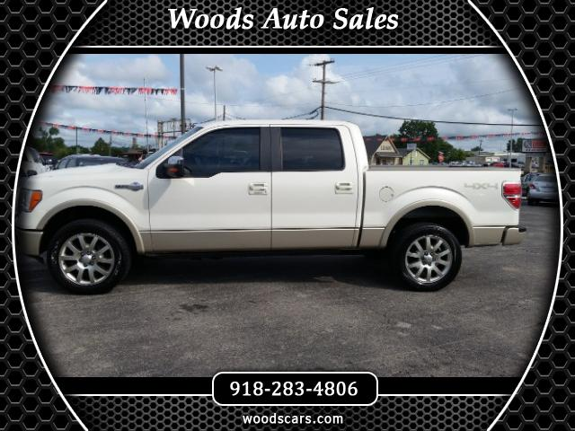 """2009 Ford F-150 4WD SuperCrew 157"""" King Ranch"""