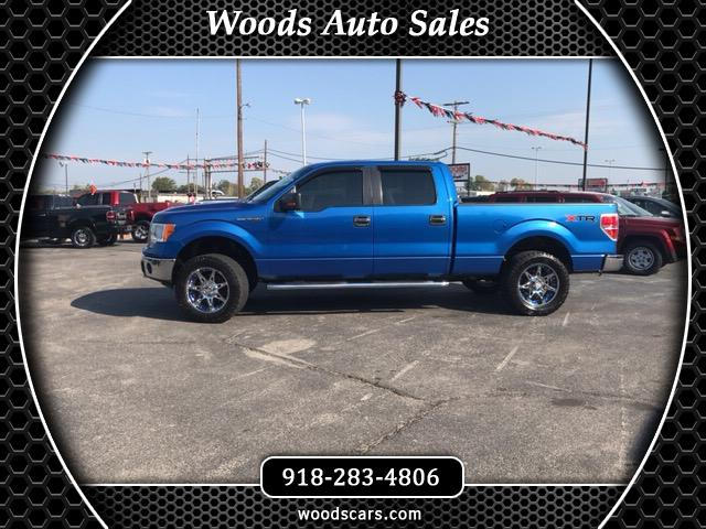 "2011 Ford F-150 4WD SuperCrew 139"" XLT"
