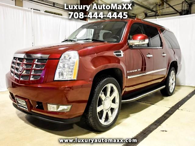 2008 Cadillac Escalade ESV AWD LUXURY PKG REAR TV DVD CAPTIAN CHAIR KEYLE