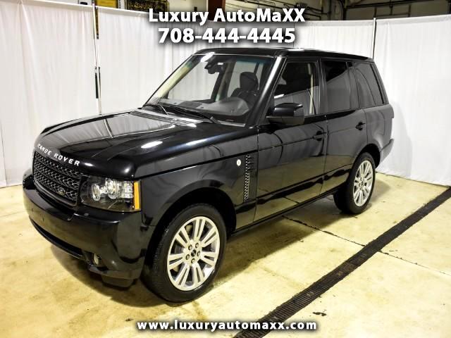 2012 Land Rover Range Rover HSE LUXURY PKG 1 OWNER CARFAX CERTIFIED DEALER SER
