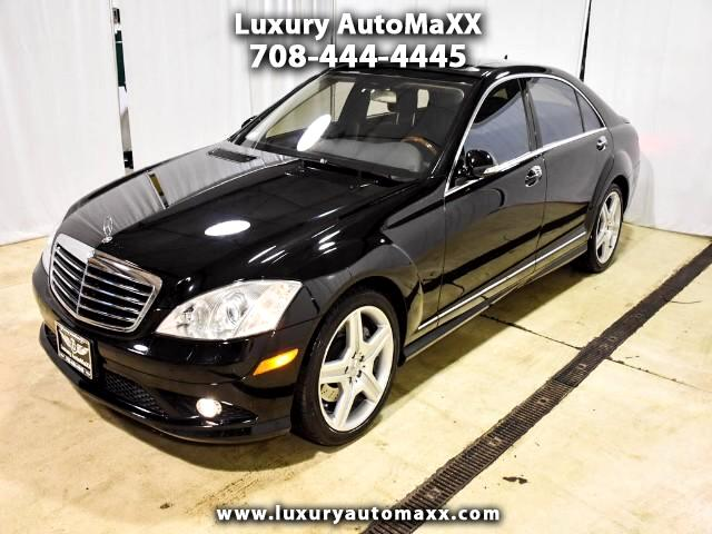 2008 Mercedes-Benz S-Class S550 4MATIC SPORT AMG BACKUP CAMERA AWD XCLEAN