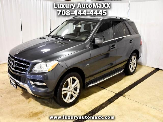 2012 Mercedes-Benz M-Class ML350 4MATIC 1 OWNER RUNNING BOARDS LED LIGHTS