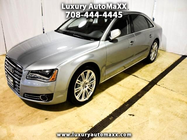 2012 Audi A8 4.2L QUATTRO PANO ROOF NAVIGATION PUSH START BUTTO