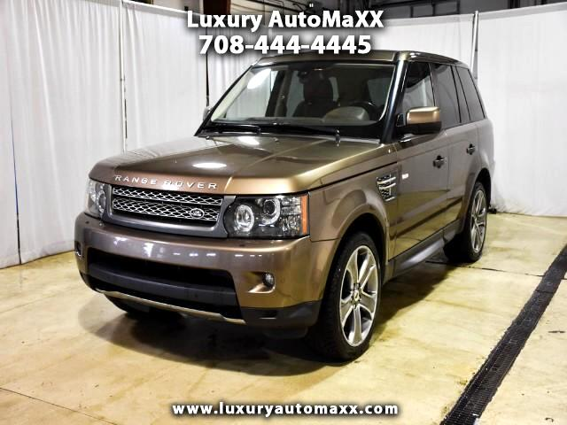 2010 Land Rover Range Rover Sport SUPERCHARGED REAR ENTERTAINMENT RARE COLOR COMBO