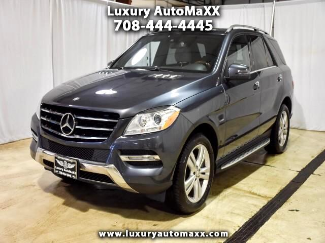 2012 Mercedes-Benz M-Class ML350 4MATIC P2 PKG PUSH START BUTTON WOOD STEERIN