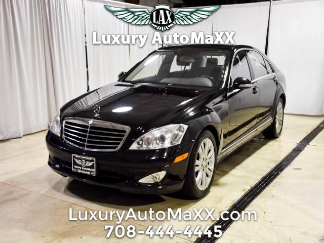 2009 Mercedes-Benz S-Class 550 4MATIC CARFAX CERTIFIED DEALER SERVICED