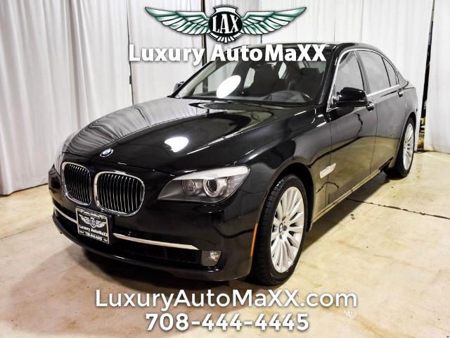 2012 BMW 750Li xDrive Keyless Go Navi Luxury Seating Shades AWD Loaded
