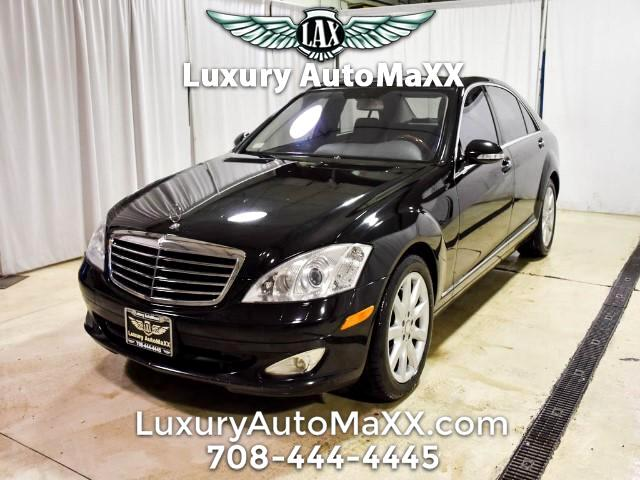 2008 Mercedes-Benz S-Class S550 CARFAX CERTIFIED DEALER SERVICED