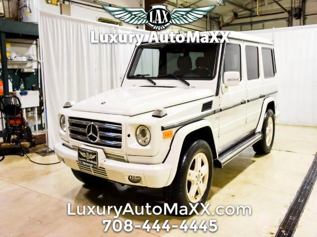2008 Mercedes-Benz G-Class G500 CARFAX CERTIIFIED VERY RARE COLOR COMBO