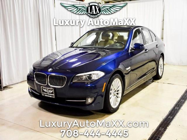 2011 BMW 5-Series 535xi CARFAX CERTIFIED DEALER SERVICED