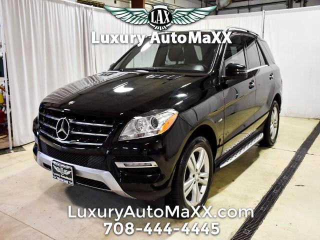 2012 Mercedes-Benz M-Class ML350 4MATIC 1 OWNER CARFAX CERTIFIED