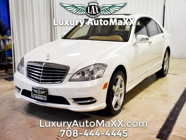 2010 Mercedes-Benz S-Class S550 4-MATIC CARFAX CERTIFIED REAR POWER SEAT