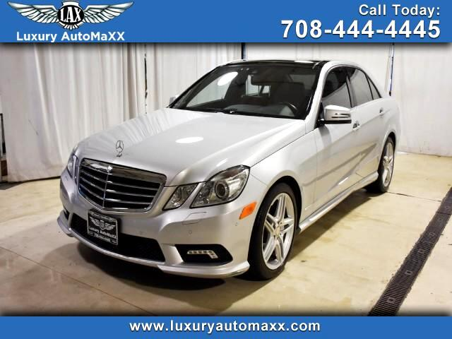 2011 Mercedes-Benz E-Class E350 Sport AMG PKG 4MATIC PANO ROOF P2 PKG LOADED