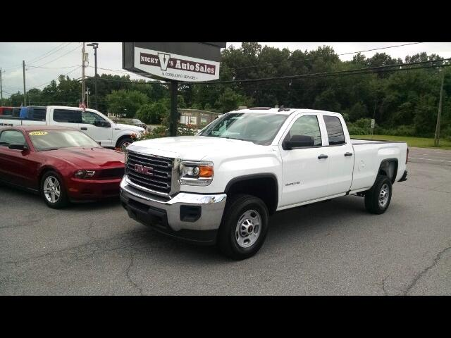 2016 GMC Sierra 2500HD Base Double Cab 4WD