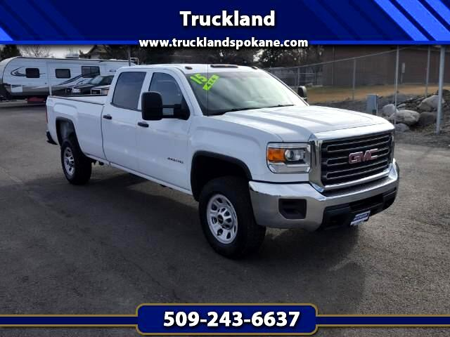 2015 GMC Sierra 3500HD Work Truck Crew Cab Long Box 4WD