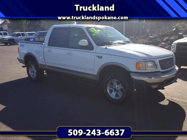 2002 Ford F-150 Lariat SuperCrew 5.5-ft. Bed 4WD